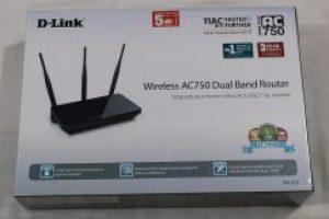 DIR-805L Duel Band Gigabit Cloud Router