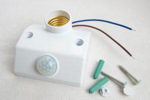 মোশন সেন্সর স্বয়ংক্রিয় বাল্ব হোল্ডার ( Motion Sensor Lamp Holder)